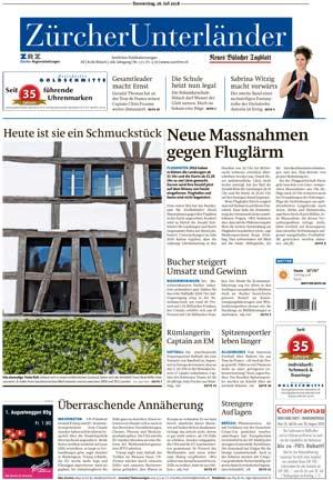 Zürcher Unterländer Juli 2018